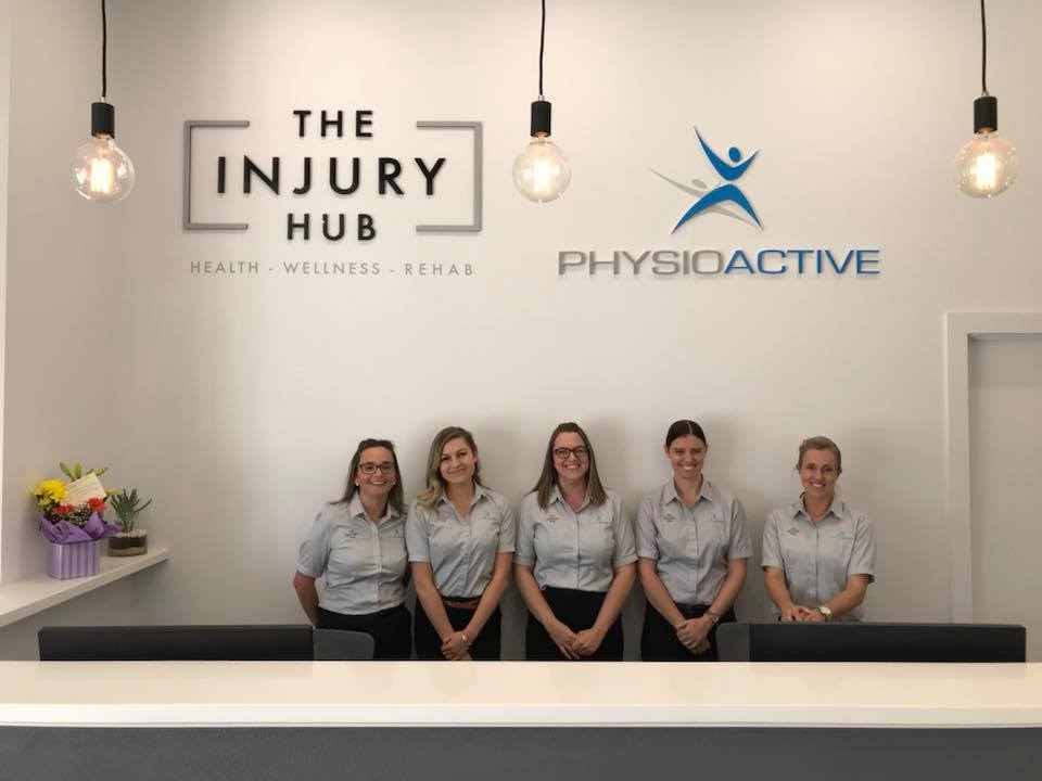 Injury hub staff